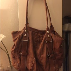 Ted Benson, leather tote